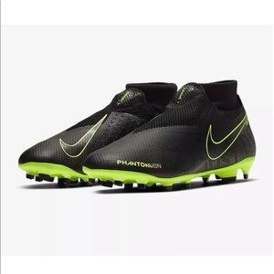 Nike Phantom Vision Pro DF FG Black Soccer Cleats